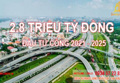 Hơn 2,8 triệu tỉ vốn đầu tư công: Ưu tiên sân bay Long Thành